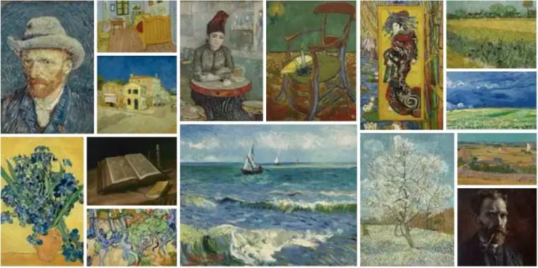 Van Gogh Virtual Museum Tour to see great paintings