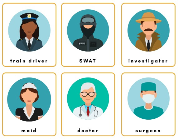 jobs and occupation flashcards