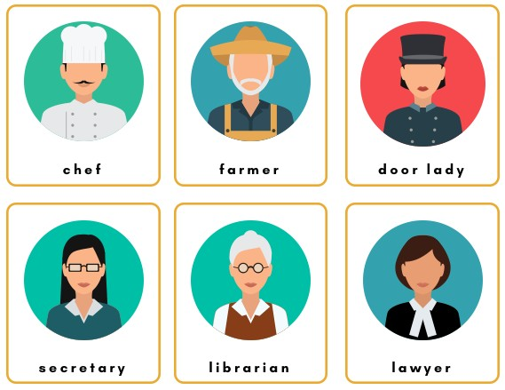 jobs and professions flashcards free