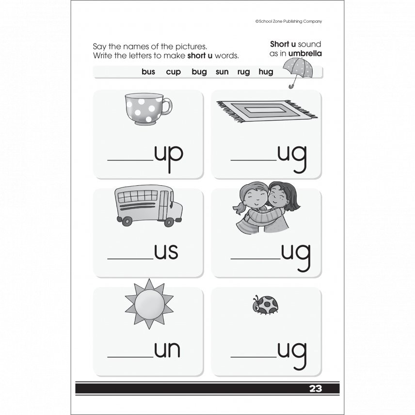 Get Ready to Read 48 Pages Activity Workbook for Grades K