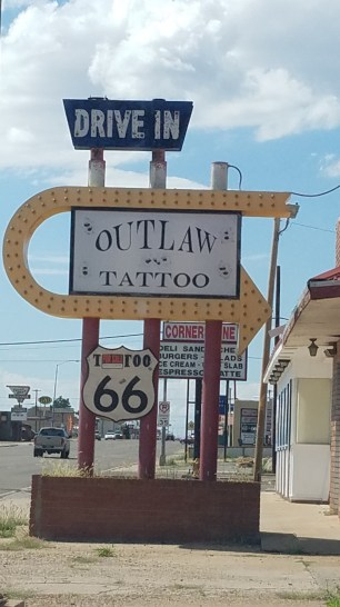 Is it a Drive In or a Tattoo Place?