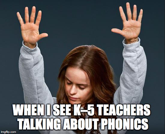 prayer hands phonics