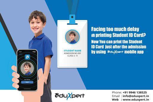 School ID card design   EduXpert ID Card design software