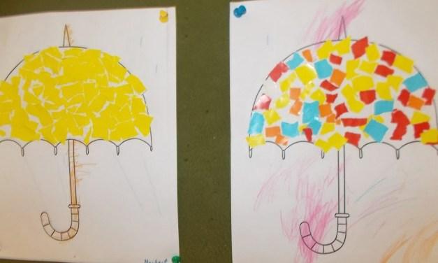 Kolorowe parasolki