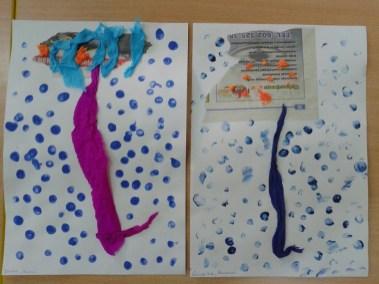 Parasol z gazet Dzień Wody Jesień (Prace plastyczne) Marlena Wrońska Prace plastyczne Prace plastyczne (Dzień Wody) Wiosna (Prace plastyczne)
