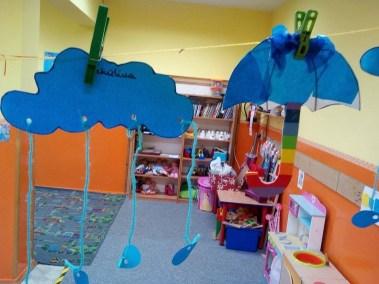 Parasol z woreczków śniadaniowych Dzień Wody Jesień (Prace plastyczne) Monika Okoń Prace plastyczne Prace plastyczne (Dzień Wody) Wiosna (Prace plastyczne)