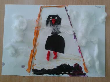 Pomagamy zwierzętom przetrwać zimę - karmnik Kreatywnie z dzieckiem Marlena Wrońska Prace plastyczne (Dzień Zwierząt) Światowy Dzień Dzikiej Przyrody Światowy Dzień Zwierząt Zima