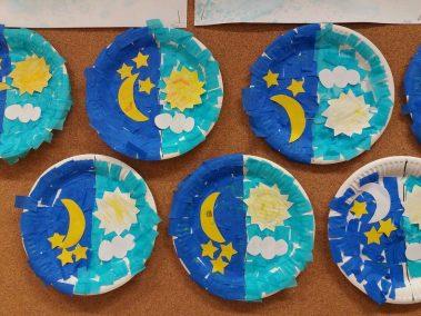 Pory dnia Dzień Kosmosu Jesień (Prace plastyczne) Joanna Lewandowska Prace plastyczne Wiosna (Prace plastyczne)