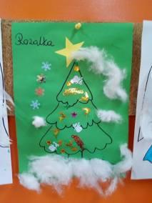 Świąteczne prace plastyczne Boże Narodzenie Kreatywnie z dzieckiem Monika Okoń Prace plastyczne Święta Zima