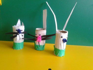 Zajączki z białej bibuły Kreatywnie z dzieckiem Marlena Wrońska Prace plastyczne (Dzień Zwierząt) Prace plastyczne (Wielkanoc) Prace plastyczne (Wiosna) Światowy Dzień Zwierząt Wielkanoc Wiosna Zwierzęta