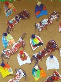 Zimowy zestaw Joanna Lewandowska Prace plastyczne Zima (Prace plastyczne)