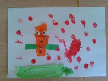 Motylki - wycinanka Kreatywnie z dzieckiem Lato Marlena Wrońska Prace plastyczne Prace plastyczne Światowy Dzień Zwierząt Wiosna Zwierzęta