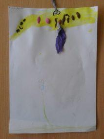 Pszczółki z bibuły Kreatywnie z dzieckiem Lato Marlena Wrońska Prace plastyczne Prace plastyczne Światowy Dzień Zwierząt Wiosna Zwierzęta