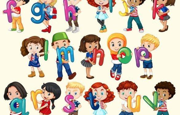 Wiersze Alfabetyczne O Literach I Cyfrach Dla Dzieci