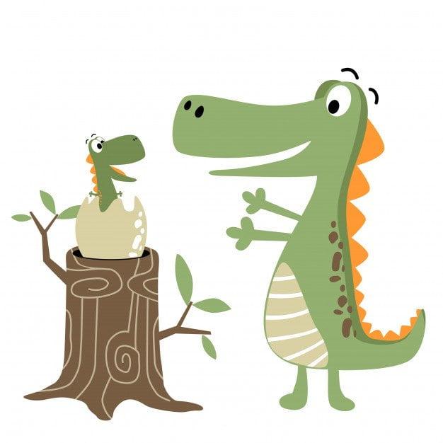 26 Luty - Dzień Dinozaura Agata Dziechciarczyk Dzień Dinozaura O dinozaurach Okolicznościowe Wierszyki