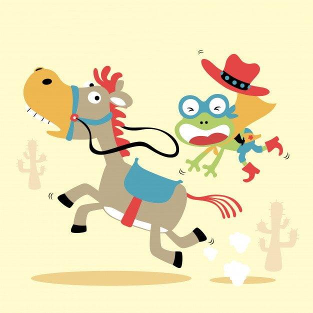 Zabawa: Konie Agata Dziechciarczyk Wierszyki Zabawa (Wierszyki)