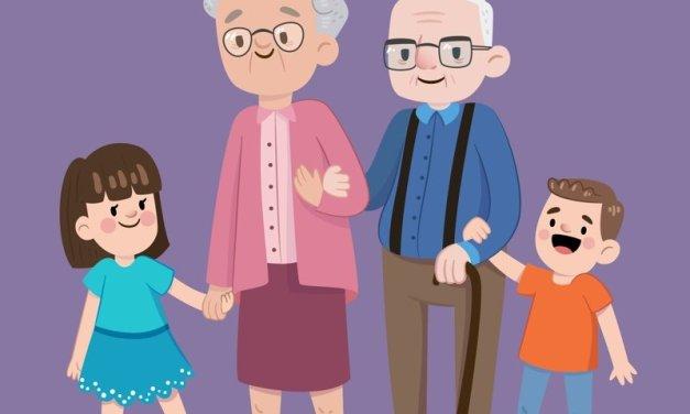 Babcia przyjaciel, dziadek kumpel