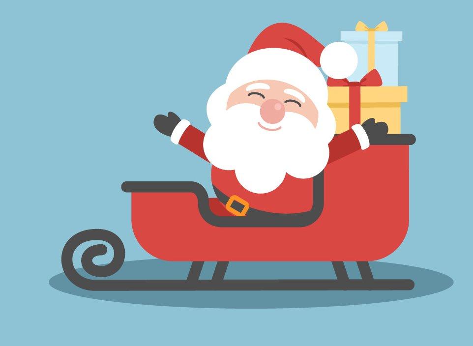 Mikołaj tuż tuż Agata Dziechciarczyk Święty Mikołaj (Wierszyki) Wierszyki