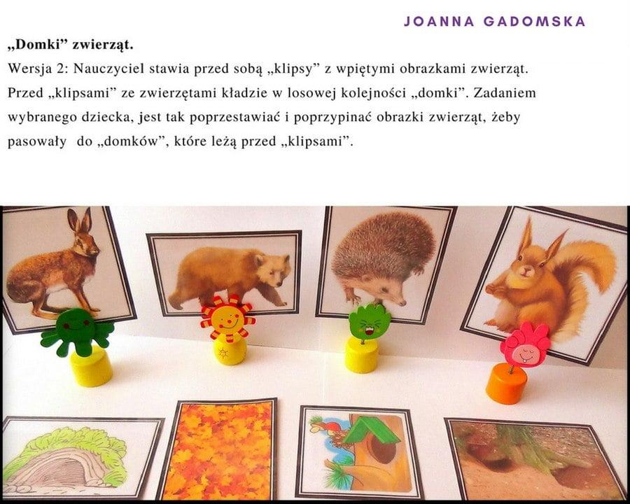 Wszystko o zwierzętach ich domy, odgłosy, zagadki Joanna Gadomska Pomoce dydaktyczne Scenariusze Światowy Dzień Dzikiej Przyrody