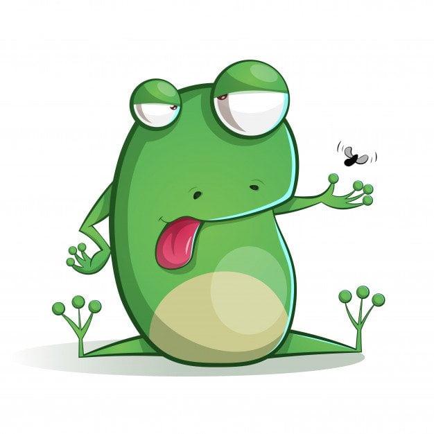 Zagadki na łące - żaba Agata Dziechciarczyk Wierszyki Wiosna (Wierszyki) Zagadki (Wierszyki)