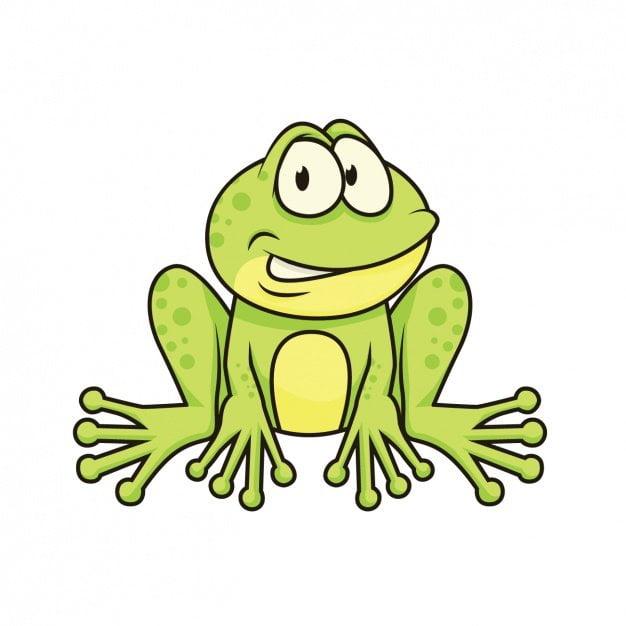 Żabka Agata Dziechciarczyk Wierszyki Wiosna