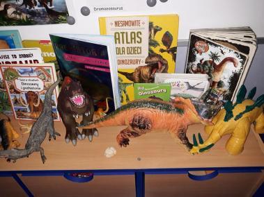 Wystawka, ozdoba i dekoracja na Dzień Dinozaura Dzień Dinozaura Kreatywnie z dzieckiem Małgorzata Wojkowska