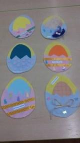 Filcowe kartki wielkanocne Izabela Kowalska Kreatywnie z dzieckiem Prace plastyczne (Wielkanoc) Wielkanoc