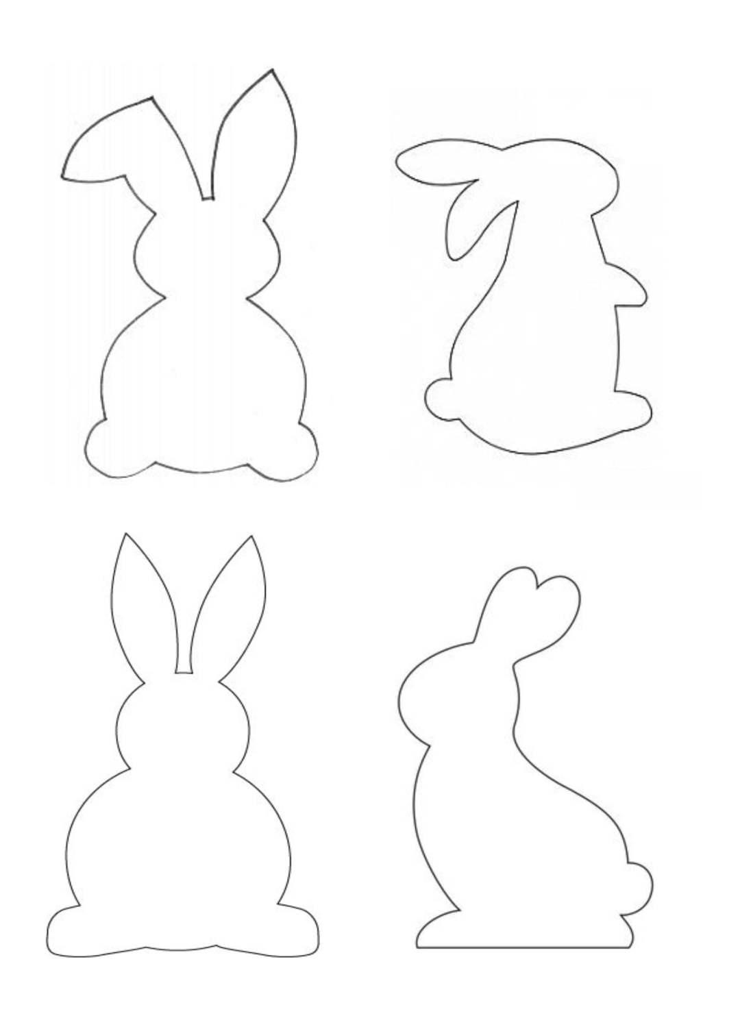 Wielkanocny zajączek w kolorowe paski Alicja Mazur Kreatywnie z dzieckiem Prace plastyczne (Wielkanoc) Wielkanoc Wielkanoc