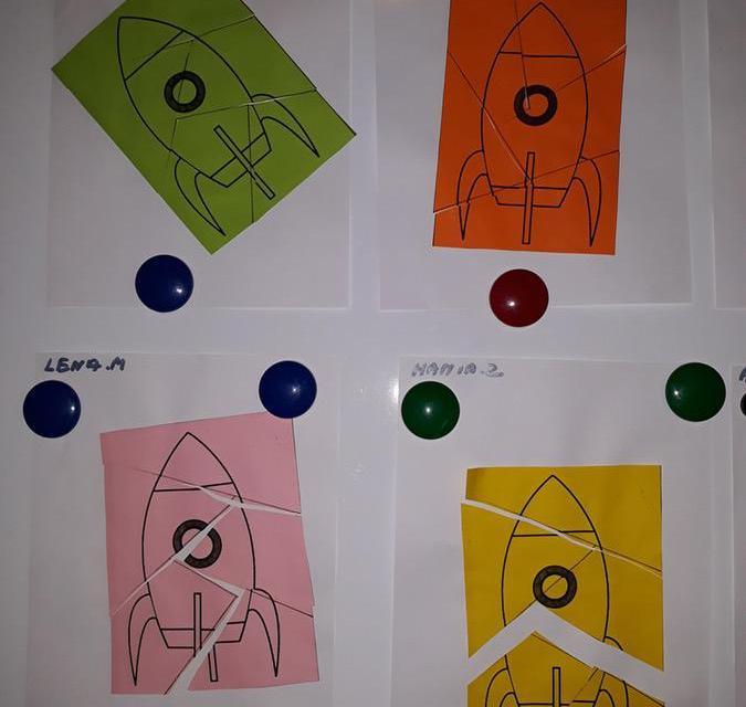 Statek kosmiczny (puzzle)