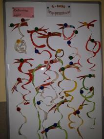Kolorowe węże - poznajemy zwierzęta Małgorzata Wojkowska Prace plastyczne Prace plastyczne (Dzień Zwierząt) Prace plastyczne (Święto Dyni / Halloween) Światowy Dzień Zwierząt Zwierzęta (Prace plastyczne)