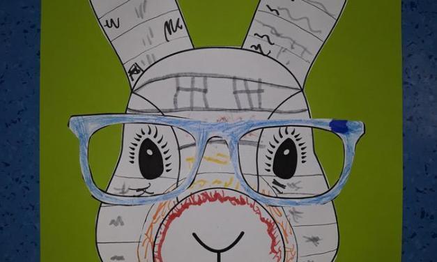 Wielkanocne zajączki w okularach