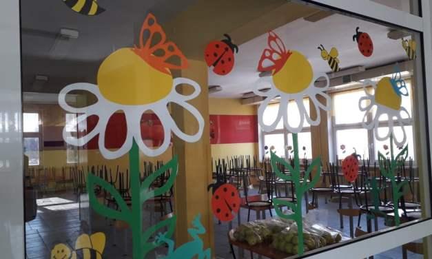 Ozdoba sali – Wiosenna łąka