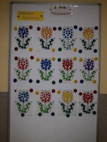 Kolorowy tulipan - uzupełnij pola Małgorzata Wojkowska Prace plastyczne Prace plastyczne (Na wsi)