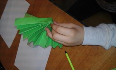 Wiosenny sad Anna Kowalska Prace plastyczne Prace plastyczne (Na wsi) Wiosna (Prace plastyczne)
