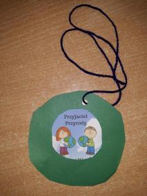 Medal Miłośnika przyrody Kreatywnie z dzieckiem Małgorzata Wojkowska Światowy Dzień Dzikiej Przyrody