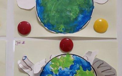 """Praca plastyczna """"Chronimy ziemię"""""""