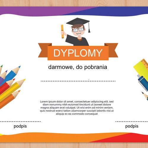 Dyplomy na zakończenie roku przedszkolnego i szkolnego (8 szablonów) Dyplomy Dyplomy (Pożegnanie przedszkola) Dyplomy (Zakończenie roku) Okolicznościowe