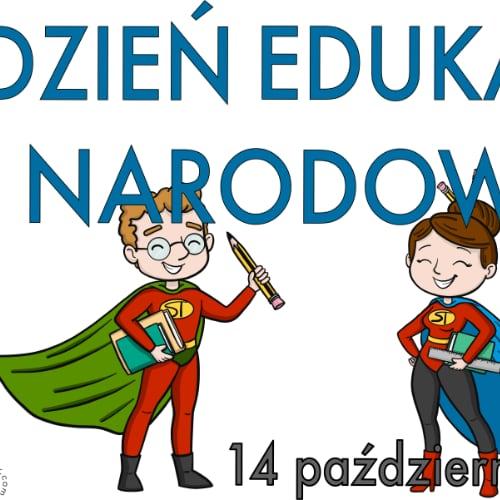 Plakat na Dzień Edukacji Narodowej A4 i XXL 3 Dzień Edukacji Narodowej Plakaty (Dzień Edukacji Narodowej)