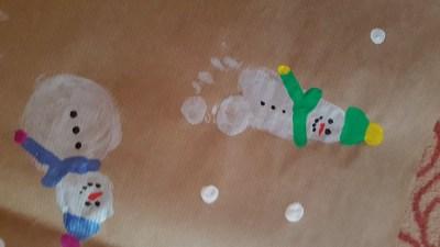 Świąteczny papier prezentowy Boże Narodzenie Dominika Kobylak Kreatywnie z dzieckiem