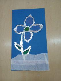 Mroźne kwiaty Izabela Kowalska Prace plastyczne Prace plastyczne (Na wsi)