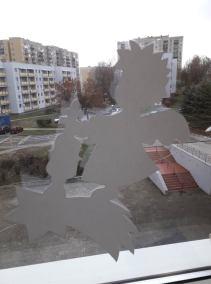 Dekoracja świąteczna okna Alicja Mazur Boże Narodzenie Prace plastyczne Prace plastyczne (Boże Narodzenie)