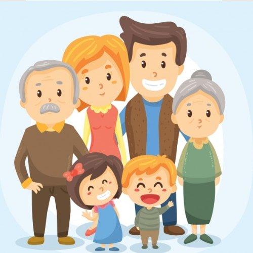 Napis Kochany Dziadku w krawat Dzień Babci i Dziadka Napisy (Dzień Babci i Dziadka)