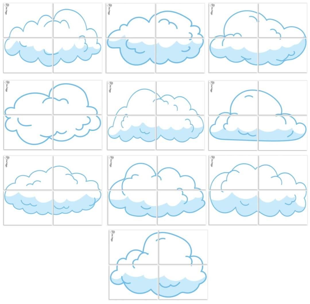 Dekoracje XXL: Chmury (10 szablonów) Dekoracje XXL (Pożegnanie przedszkola) Dekoracje XXL (Zakończenie roku)