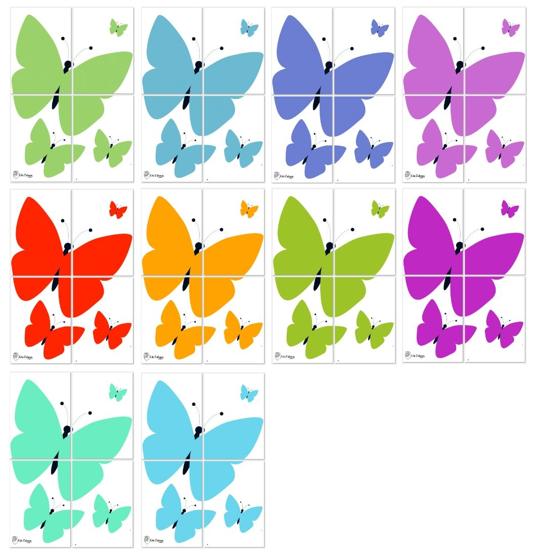 Dekoracje XXL: motyle (10 szablonów) Dekoracje Dekoracje XXL (Pożegnanie przedszkola) Dekoracje XXL (Zakończenie roku)