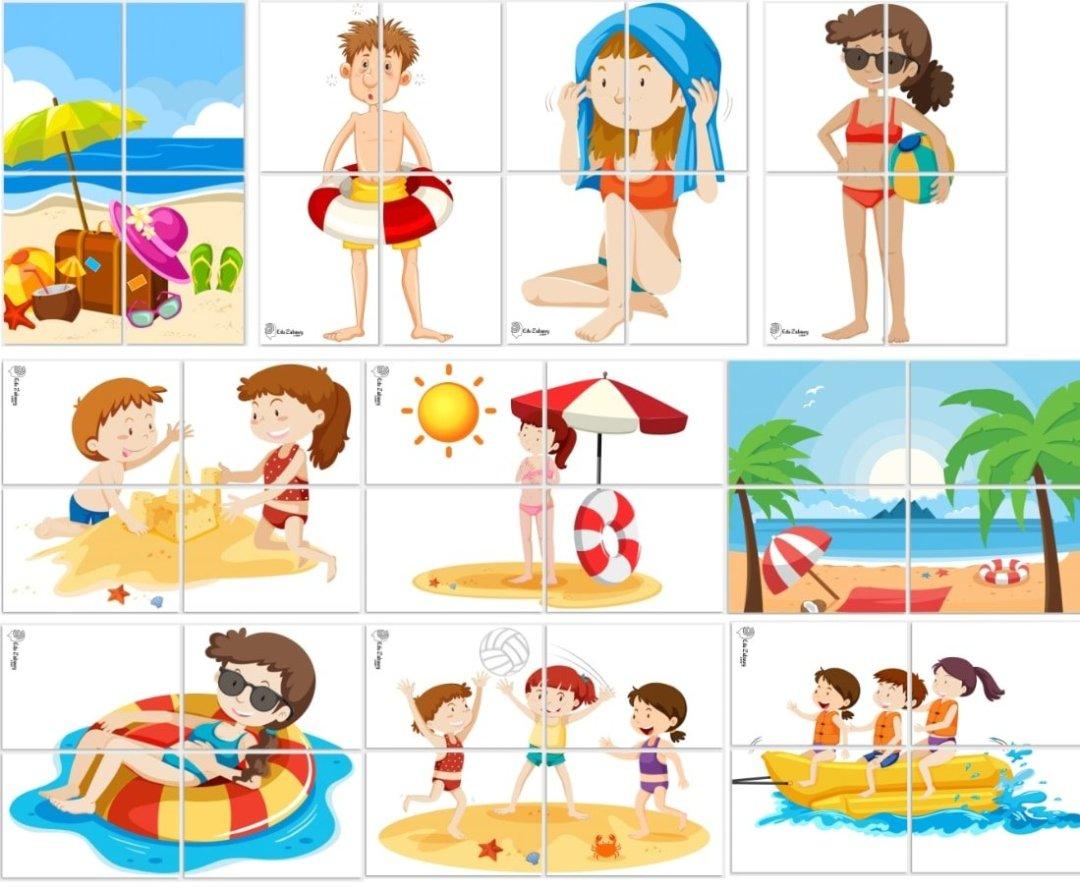 Dekoracje XXL: plaża / zabawy w piasku (10 szablonów) Dekoracje Dekoracje (Dzień Wody) Dekoracje (Lato) Dekoracje XXL (Pożegnanie przedszkola) Dekoracje XXL (Zakończenie roku)