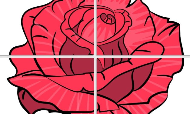 Dekoracje XXL: Róże (10 szablonów)