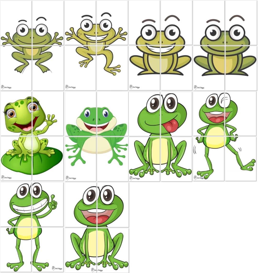 Dekoracje XXL: żabki (10 szablonów) Dekoracje Dekoracje XXL (Pożegnanie przedszkola) Dekoracje XXL (Zakończenie roku)