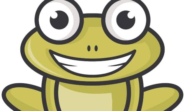Dekoracje: żabki (10 szablonów)