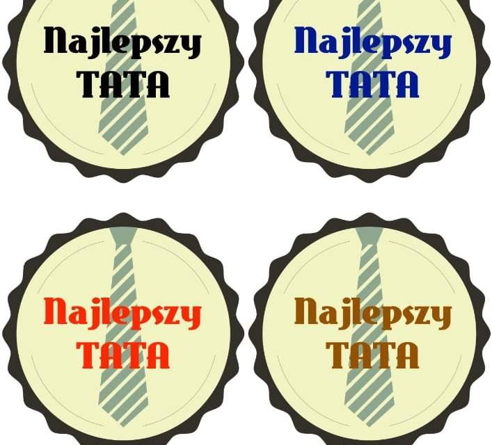 Odznaki Super Taty (5 szablonów)