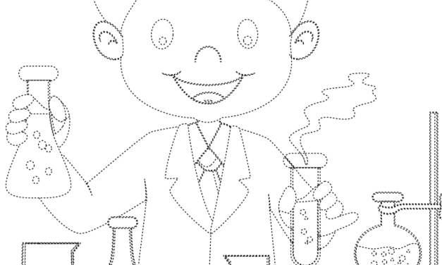 Dzień Chemika: Grafomotoryka (9 kart pracy)